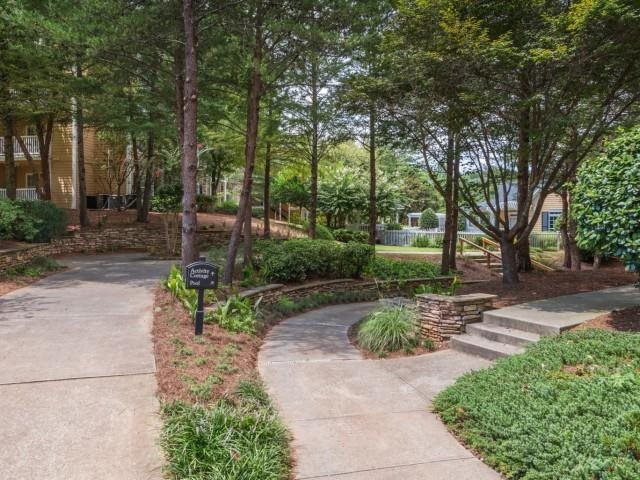Walking Trails at The Hamptons at East Cobb Apartments in Marietta, Georgia