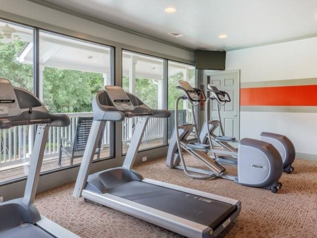 Cardio Equipment at The Hamptons at East Cobb Apartments in Marietta, Georgia