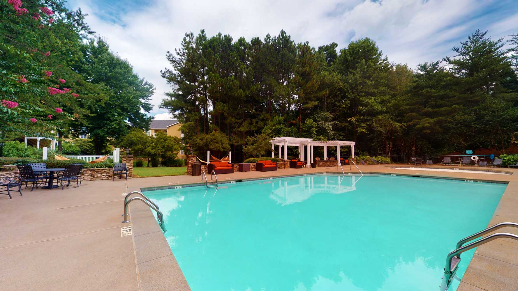 Resort Style Pool at The Hamptons at East Cobb Apartments in Marietta, Georgia