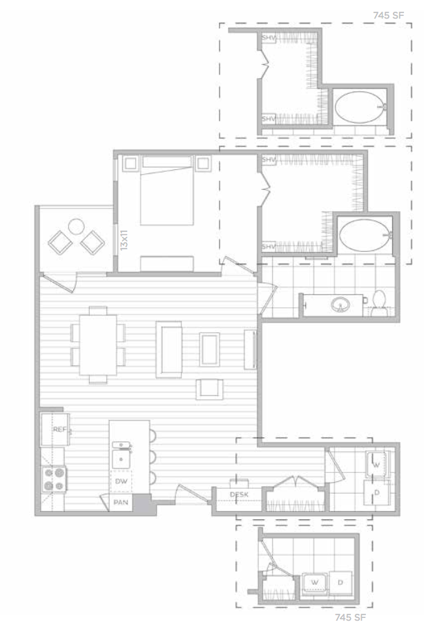 Floorplan - E image
