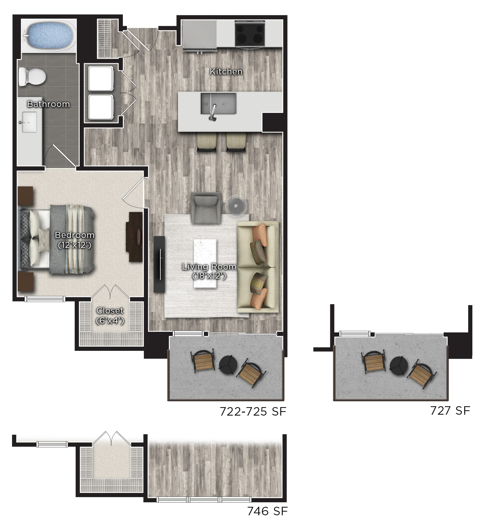 Floorplan - C image