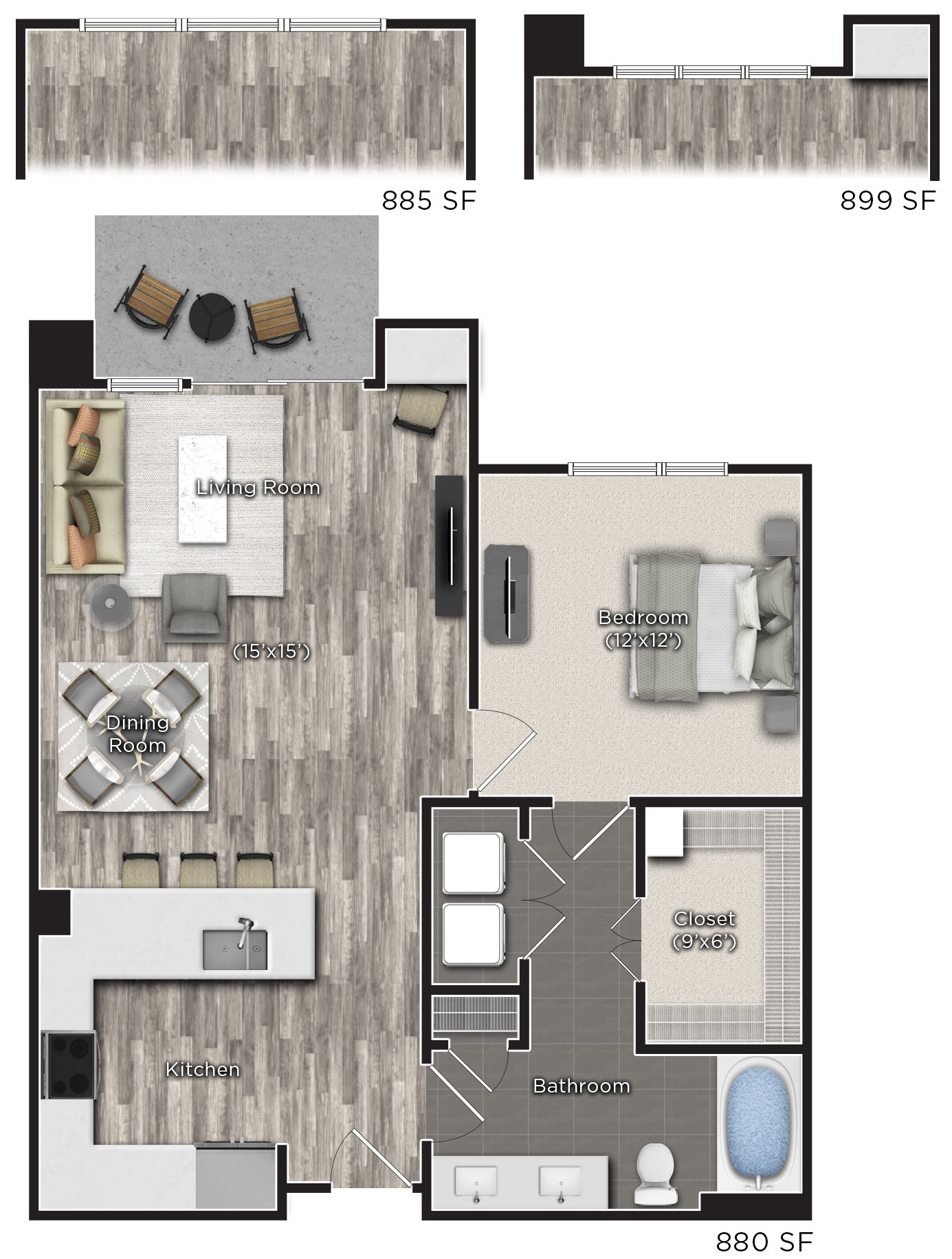 Tens on West - Floorplan - I
