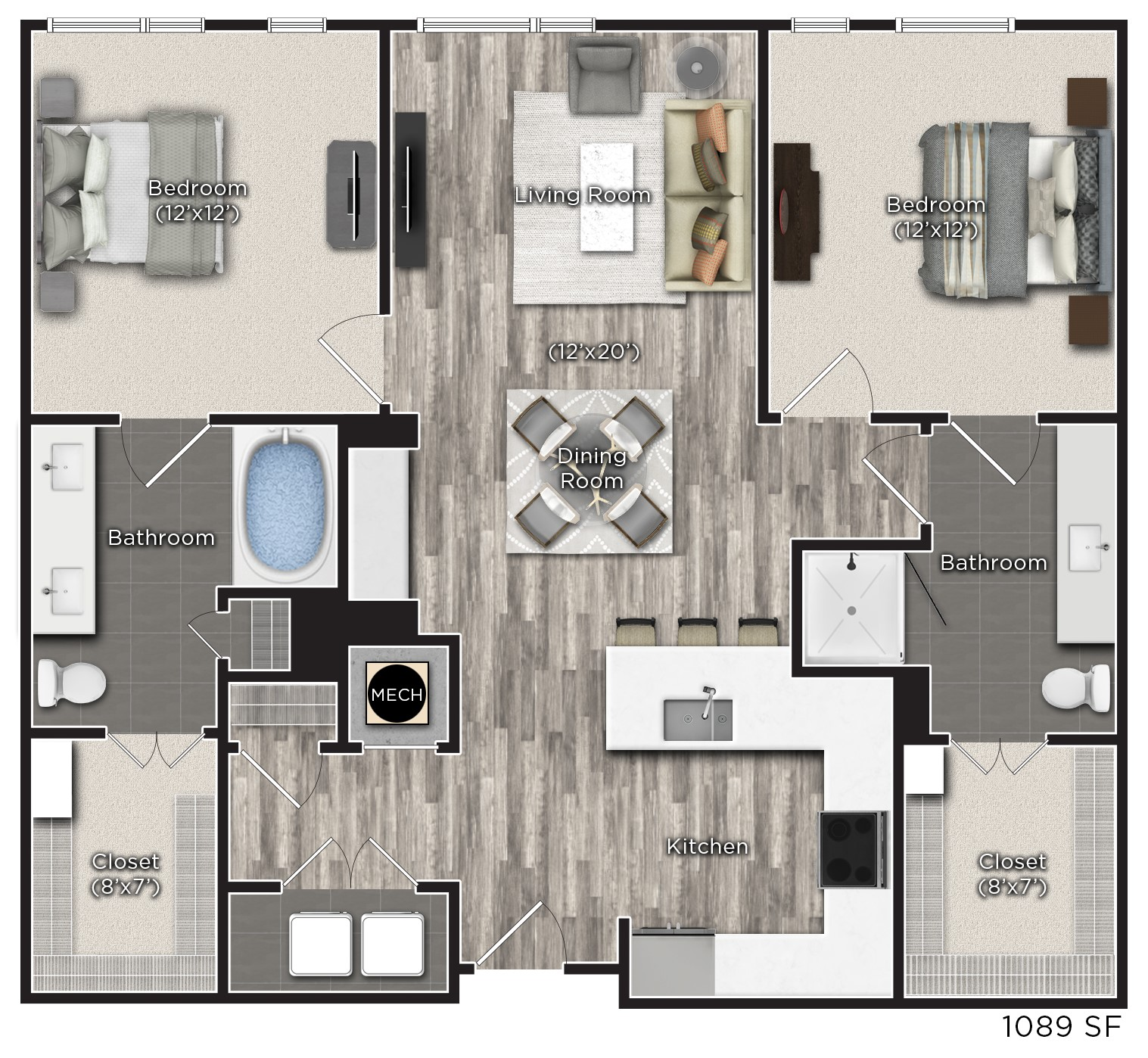Tens on West - Floorplan - Q