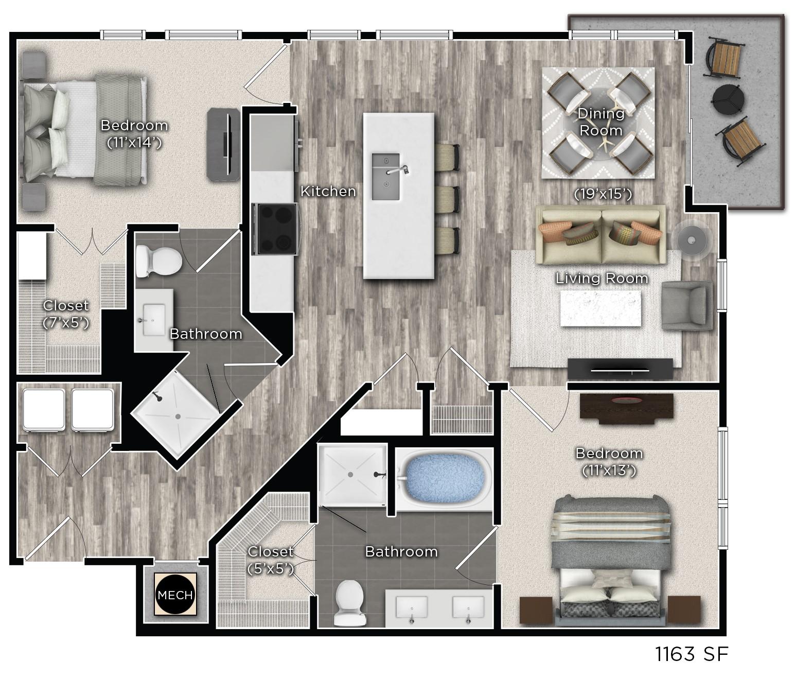 Floorplan - R image