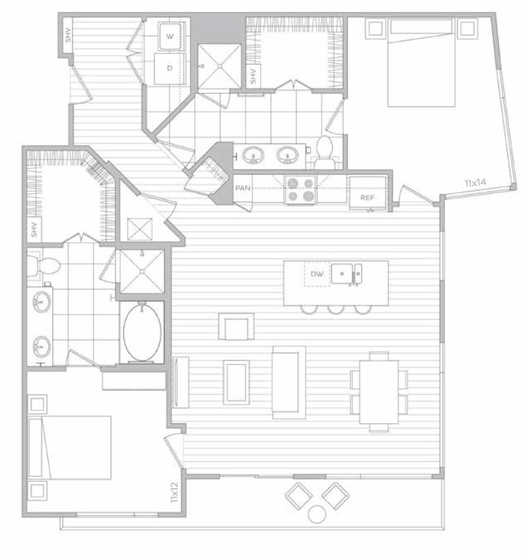 Floorplan - U image