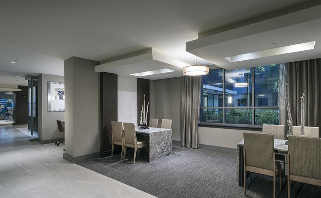 Modern Lighting at Hanover West Peachtree Apartments in Atlanta, GA