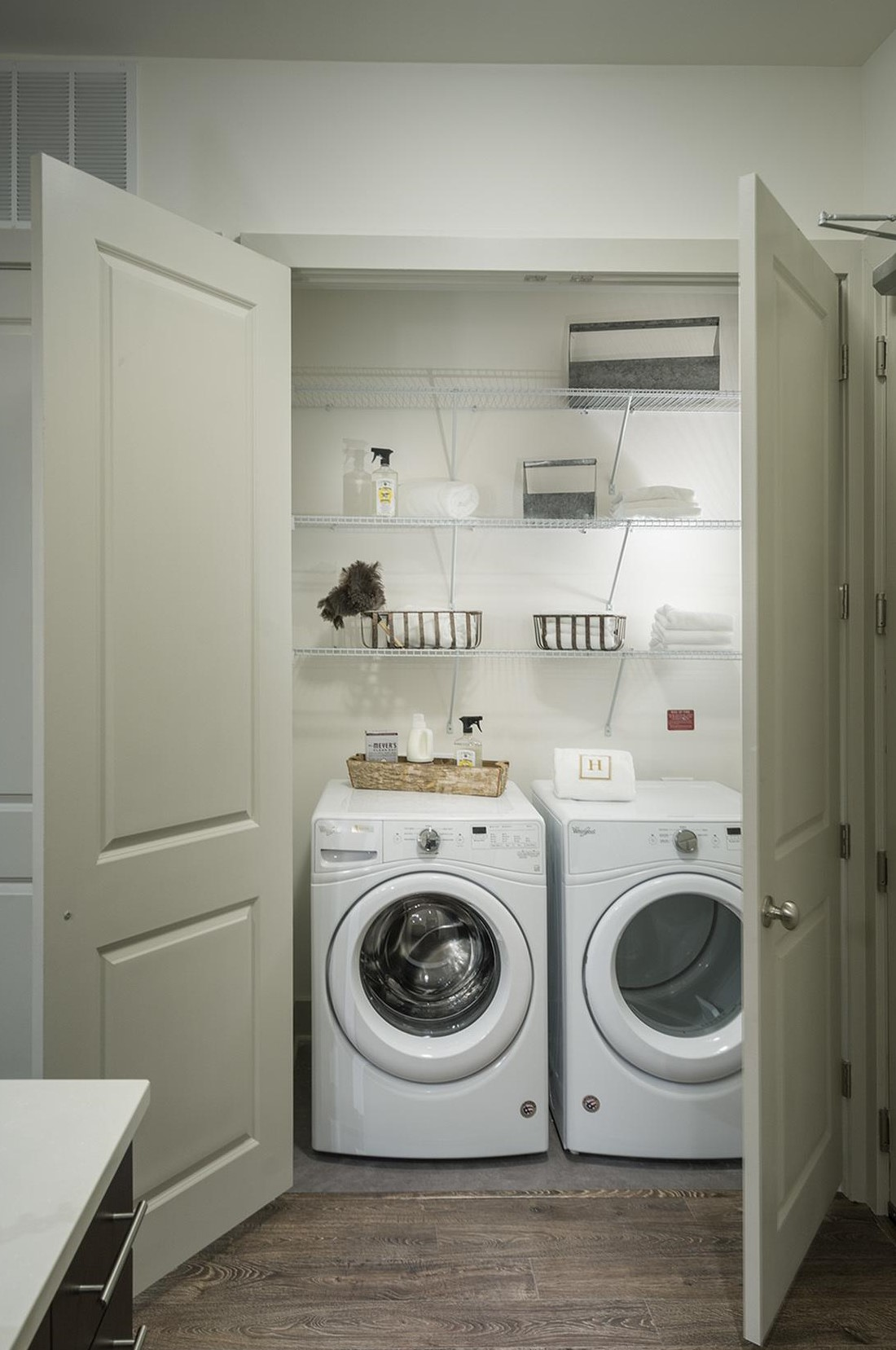 Wash and Dryer at Hanover West Peachtree Apartments in Atlanta, GA