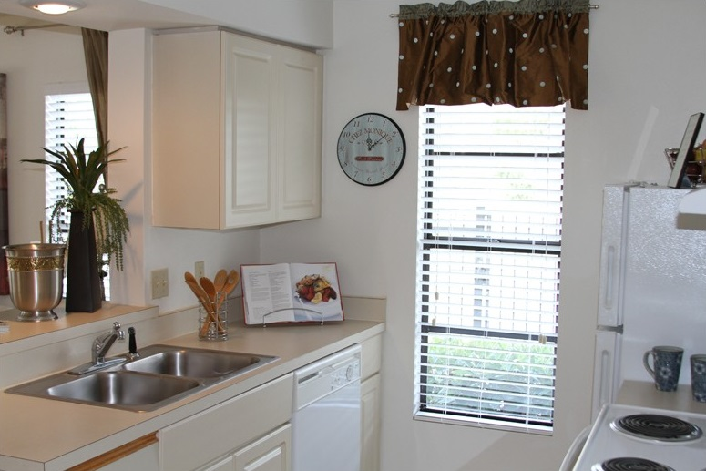 Kitchen Cabinetry at Harbor Oaks Apartments in Hudson, FL