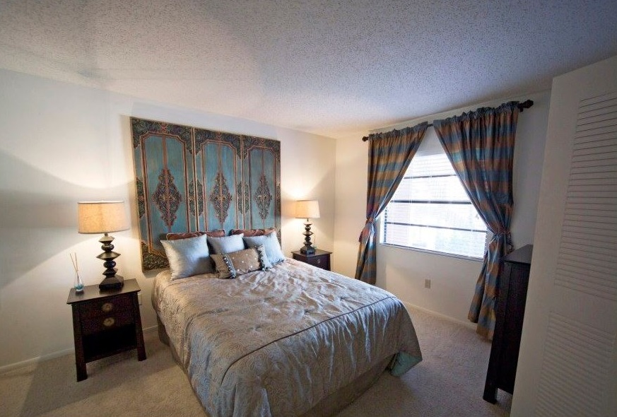 Spacious Bedrooms at Harbor Oaks Apartments in Hudson, FL