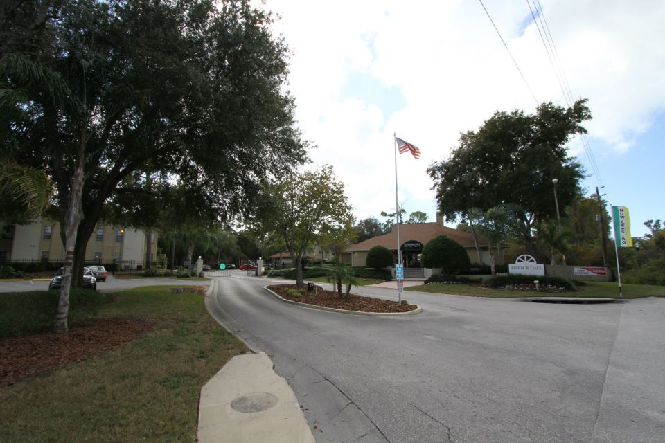 Gated Access Community at Harbor Oaks Apartments in Hudson, FL