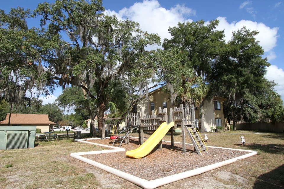 Children's Playground at Harbor Oaks Apartments in Hudson, FL