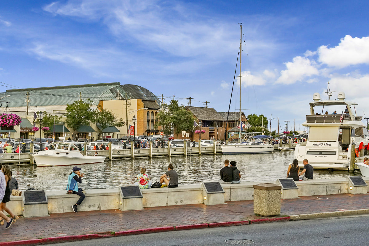Annapolis City Dock is 10 minutes from Harbour Gates Apartments in Annapolis, MD