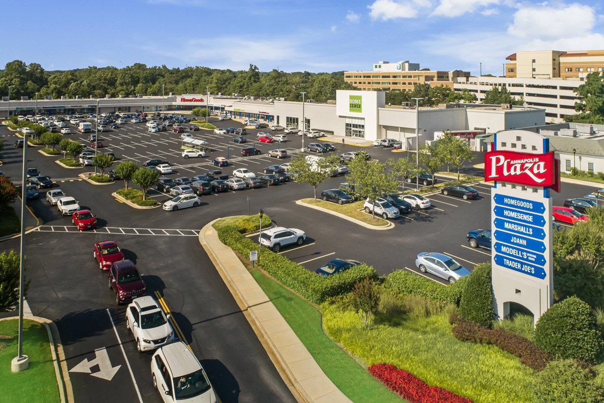 Annapolis Plaza is 5 minutes from Harbour Gates Apartments in Annapolis, MD