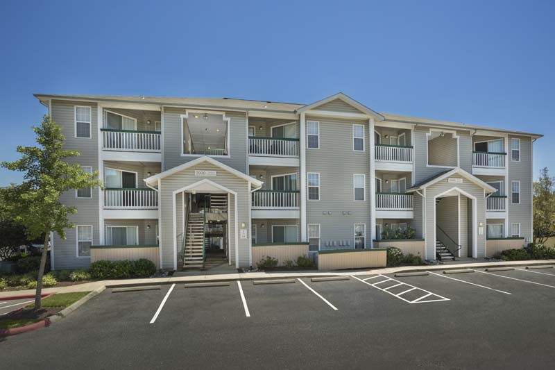 Ample parking at Harbour Gates Apartments in Annapolis, MD