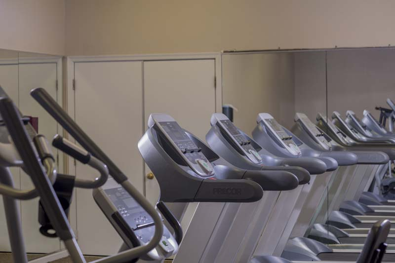 Cardio equipment at Harbour Gates Apartments in Annapolis, MD