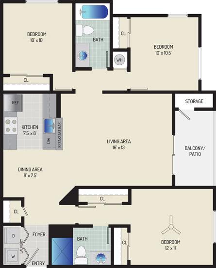 Harbour Gates Apartments - Apartment 552009-142-ZB1