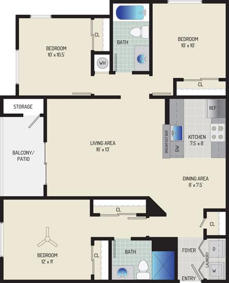 Harbour Gates Apartments - Apartment 55600-512-ZB2