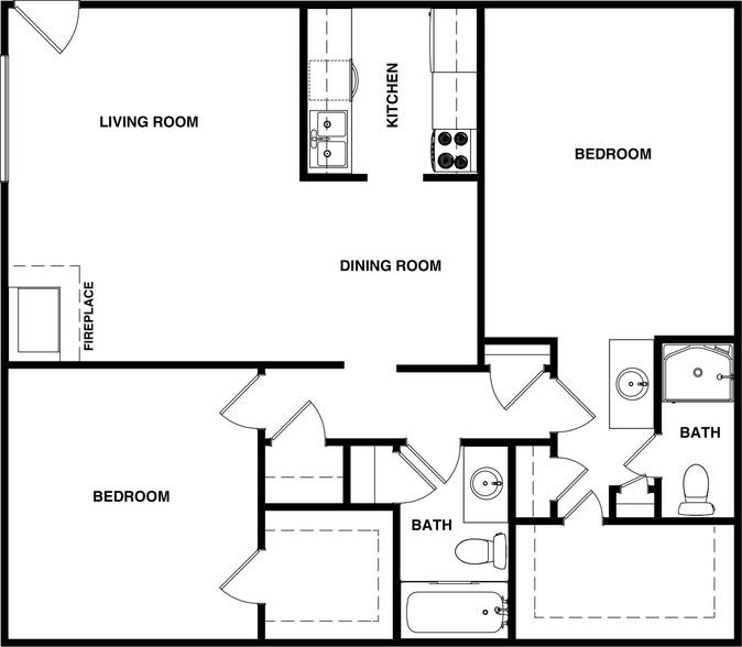 Harmony Glen - Floorplan - 2BR