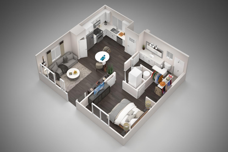 Floorplan - 1A image