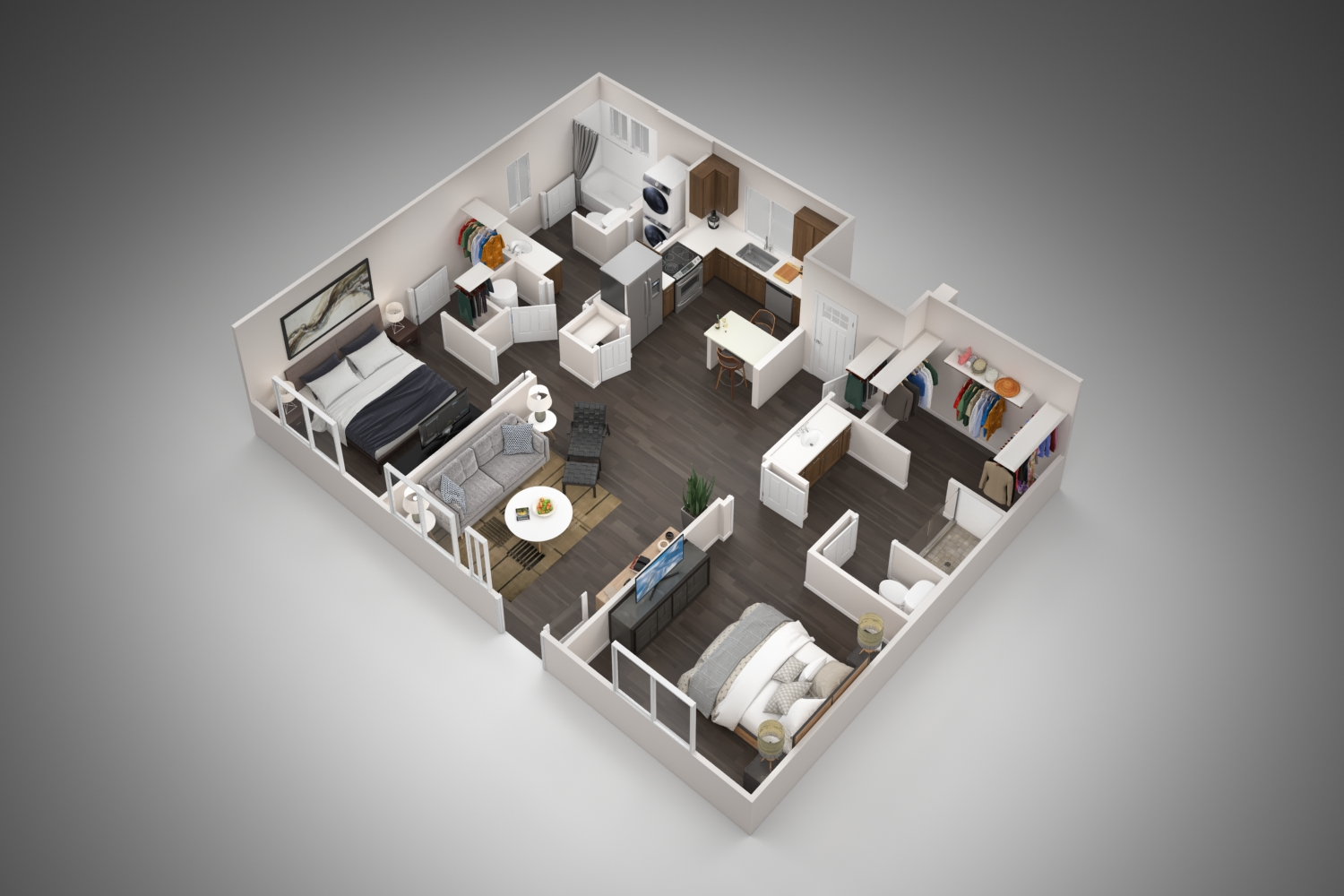 Village at Harvard Crossing - Floorplan - 2A