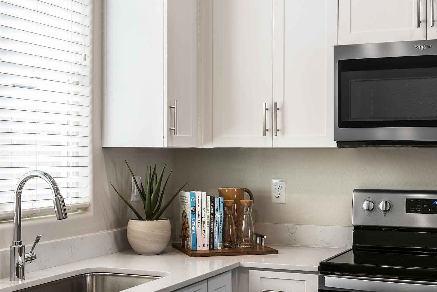 Smart Home Technology Package at Village at Harvard Crossing Apartments in Goodyear, AZ