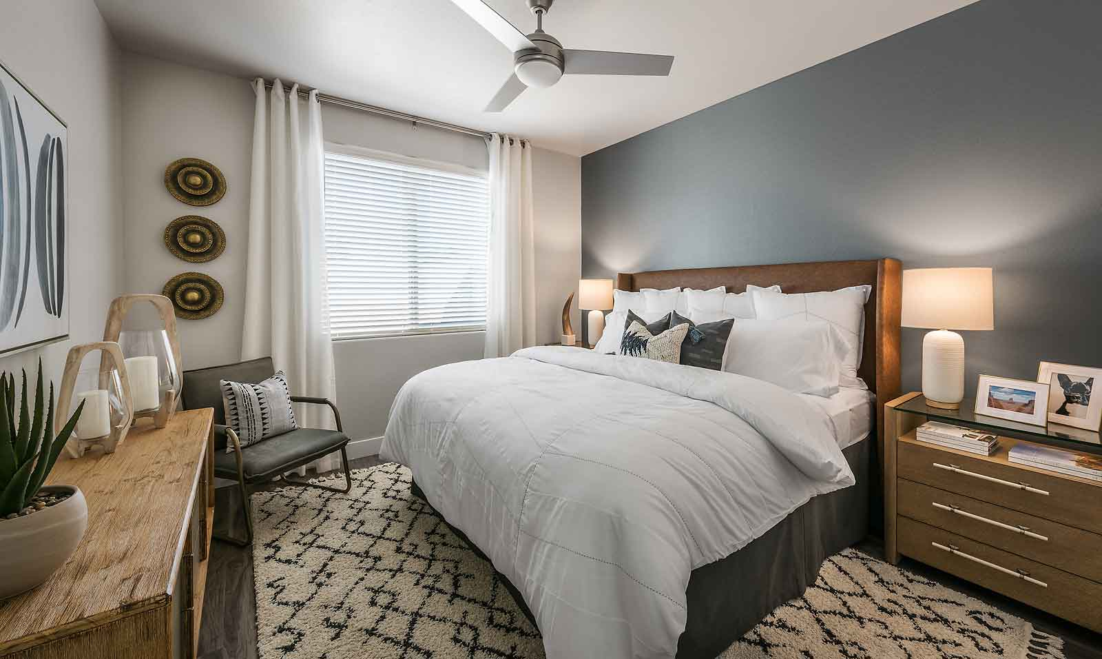 One, Two and Three-Bedroom Floor Plans at Harvard Crossing Apartments in Goodyear, AZ