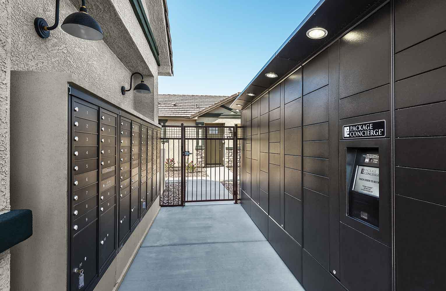 Storage Units at Harvard Crossing Apartments in Goodyear, AZ