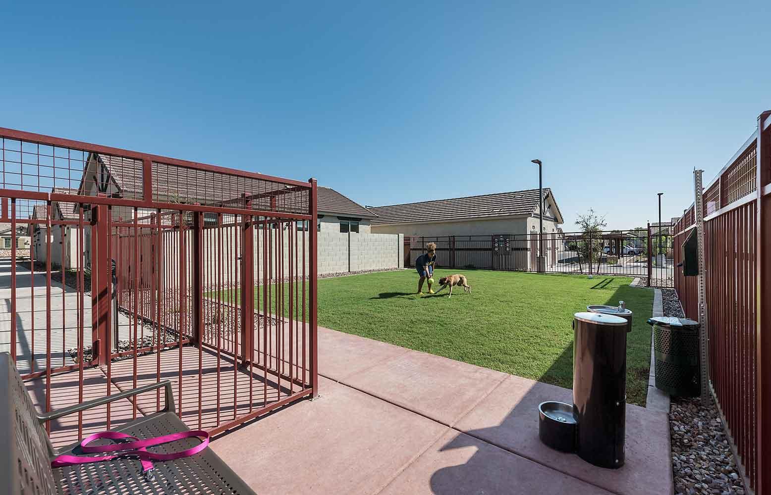 Gated Community at Harvard Crossing Apartments in Goodyear, AZ