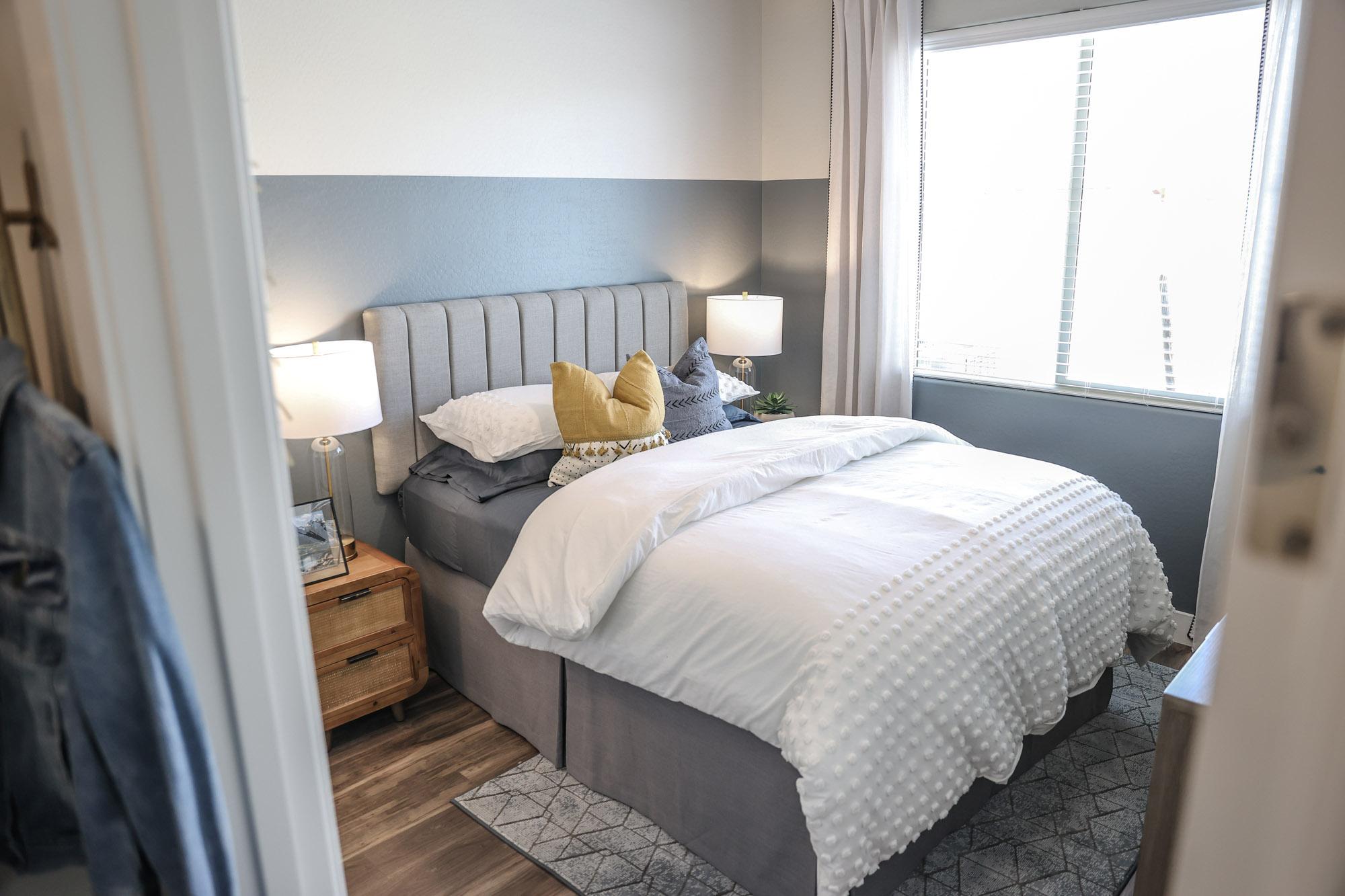 Spacious Bedroom at Village at Harvard Crossing Apartments in Goodyear, AZ