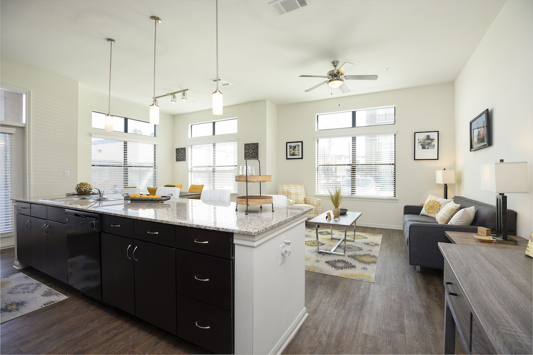 Open Concept Apartment Homes At Haven at Main Apartments In Houston, TX
