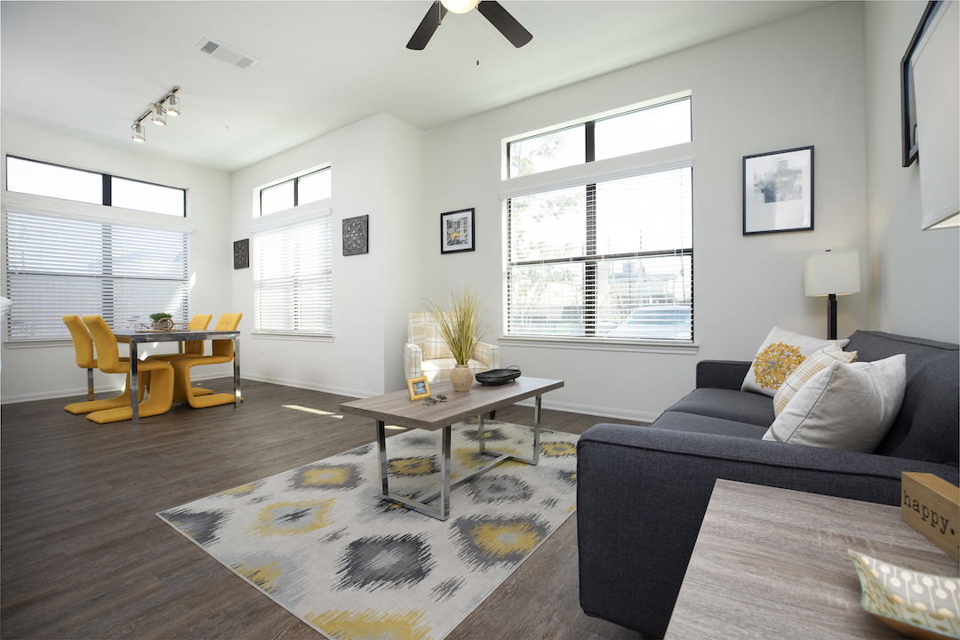 Ample Natural Lighting In Apartment Homes At Haven at Main Apartments In Houston, TX