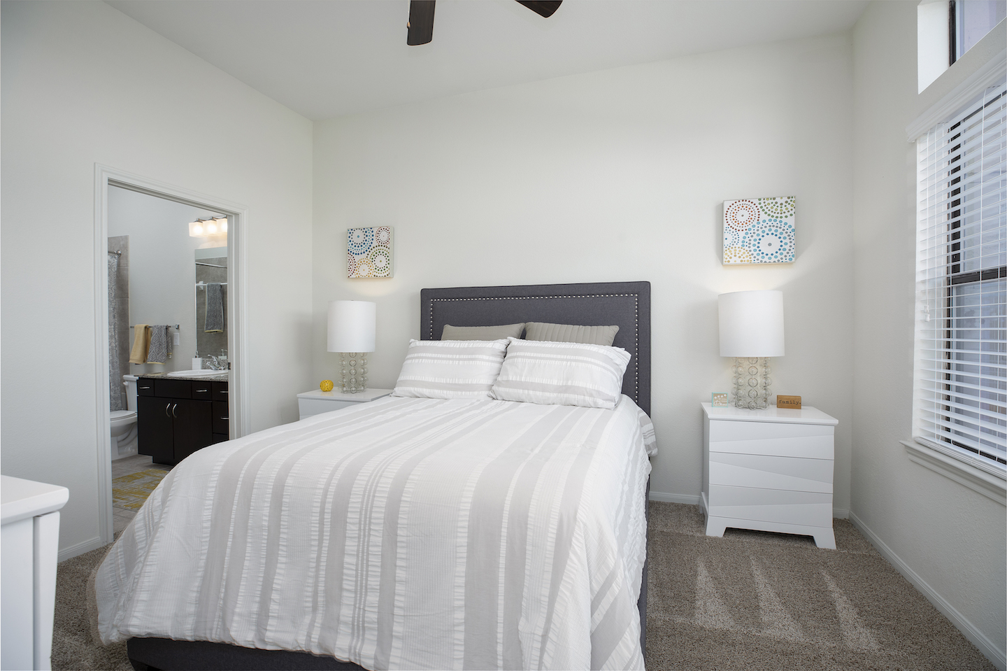 Spacious Bedrooms With Large Windows At Haven at Main Apartments In Houston, TX