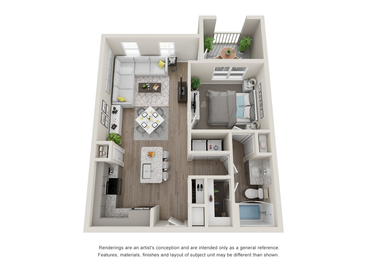 Haven at Bellaire - Floorplan - A3