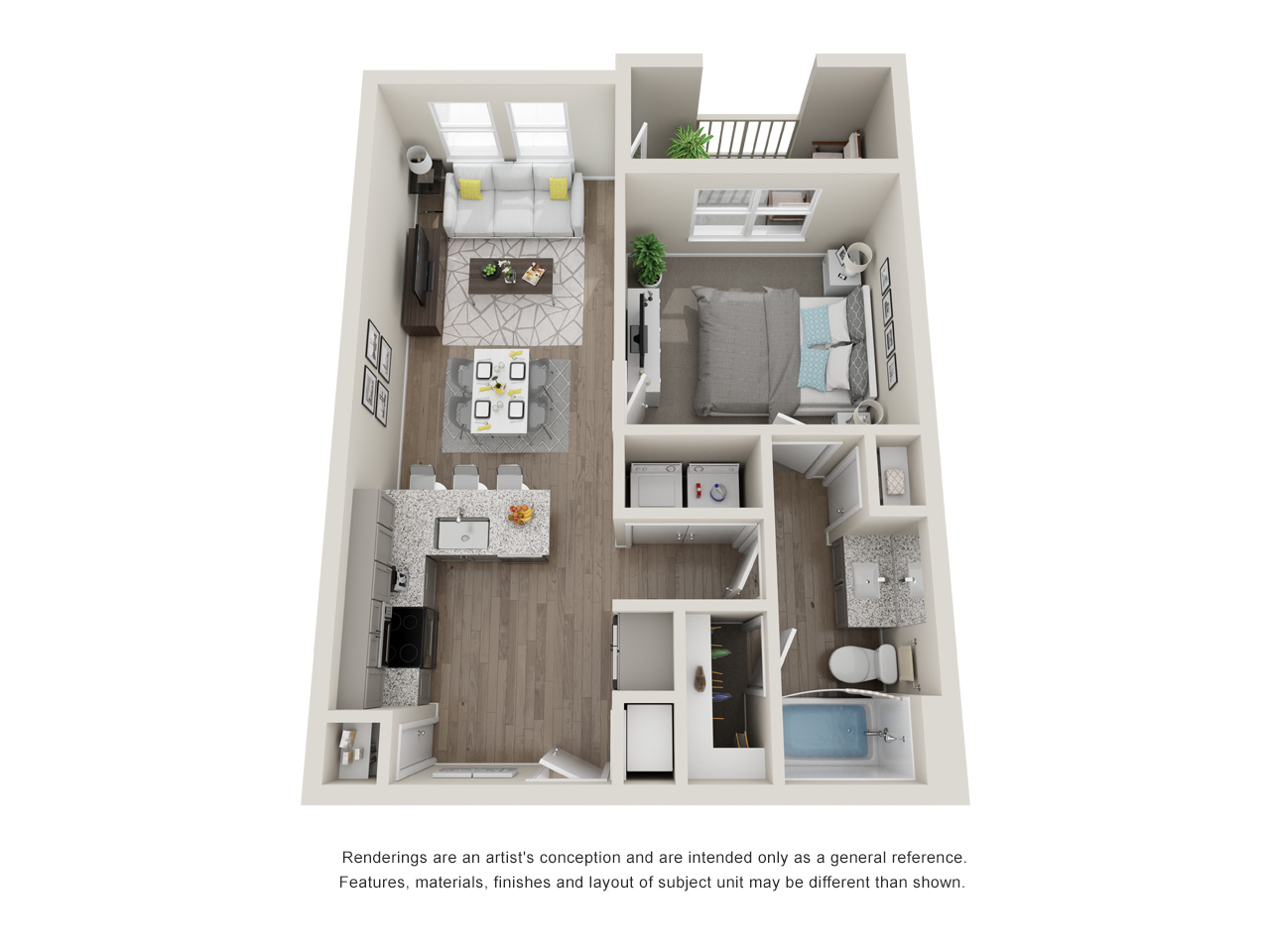 Haven at Bellaire - Floorplan - A2