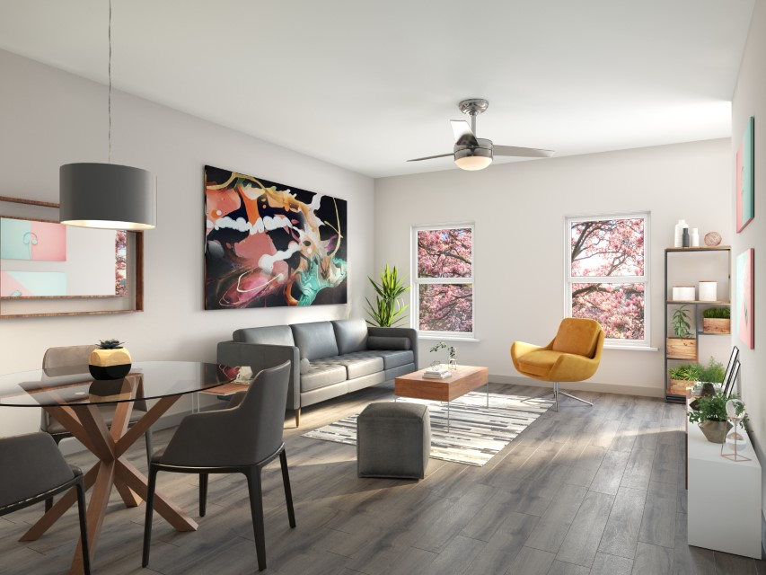Open Concept Floor Plans At Haven At Bellaire Apartments In Richmond, TX