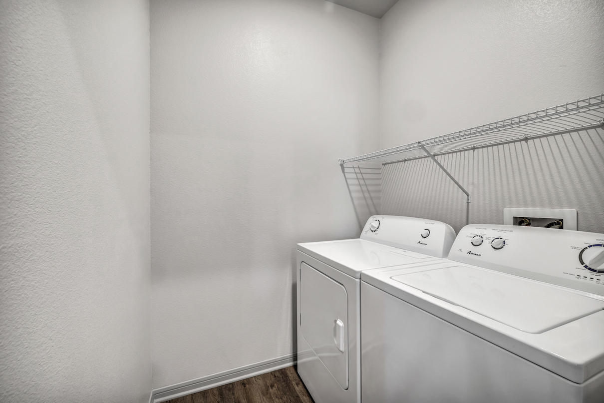 Laundry Area at Haven at Bellaire Apartments in Richmond, TX