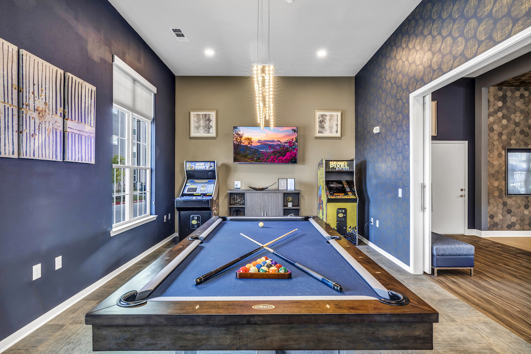 Arcade Games Available at Haven at Bellaire Apartments in Richmond, TX