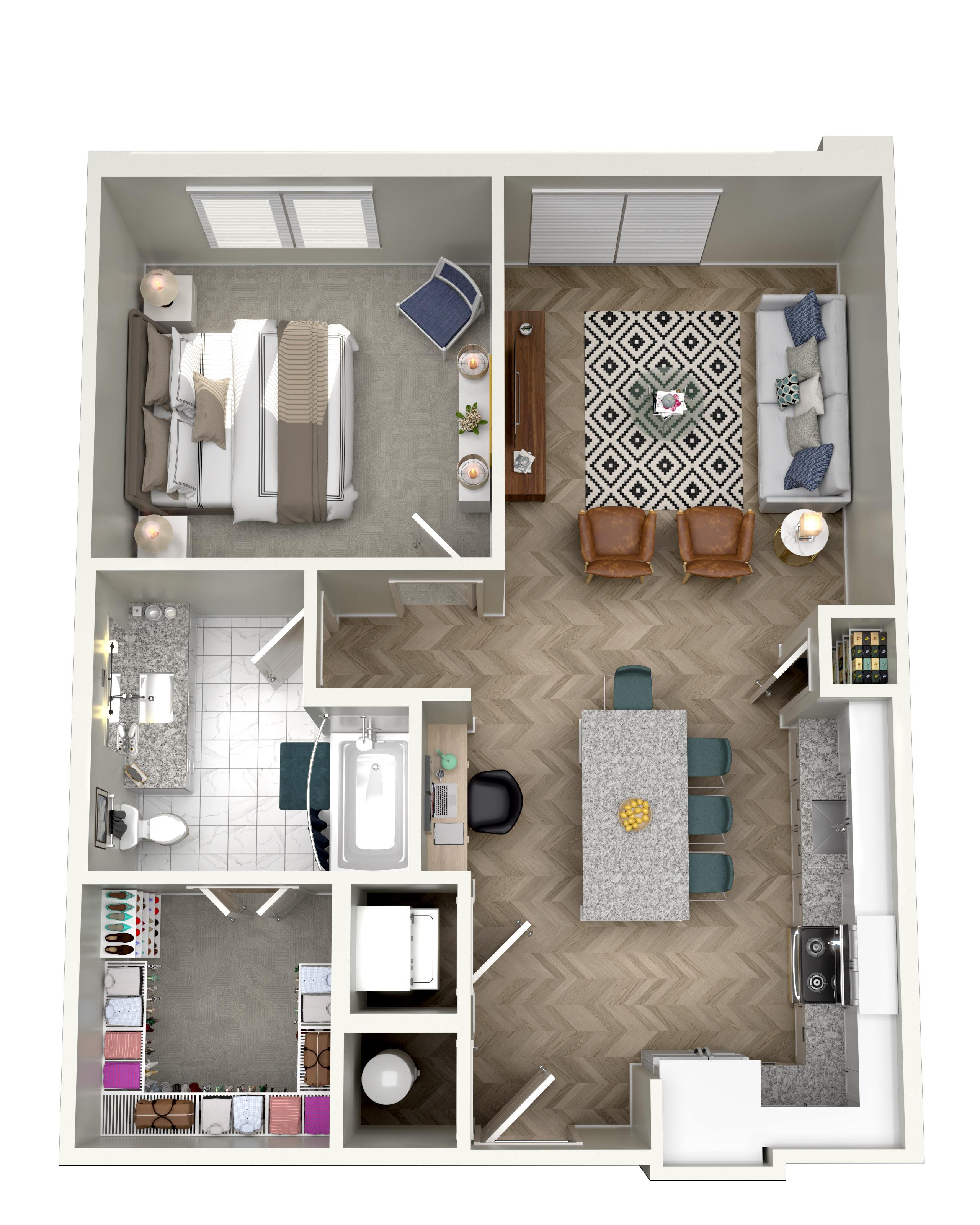 Floorplan - A1C image