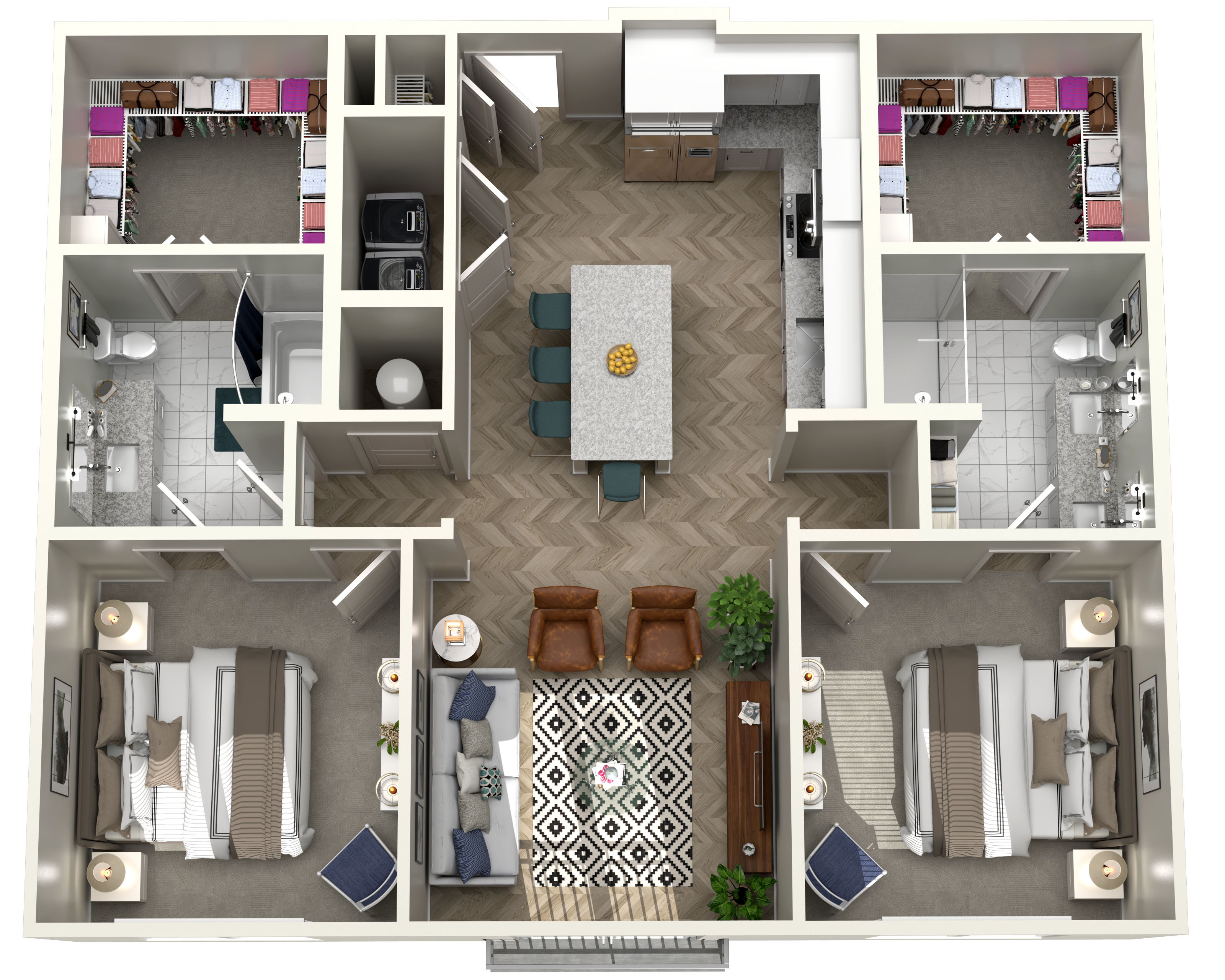 The Heights at Northwinds - Floorplan - B1