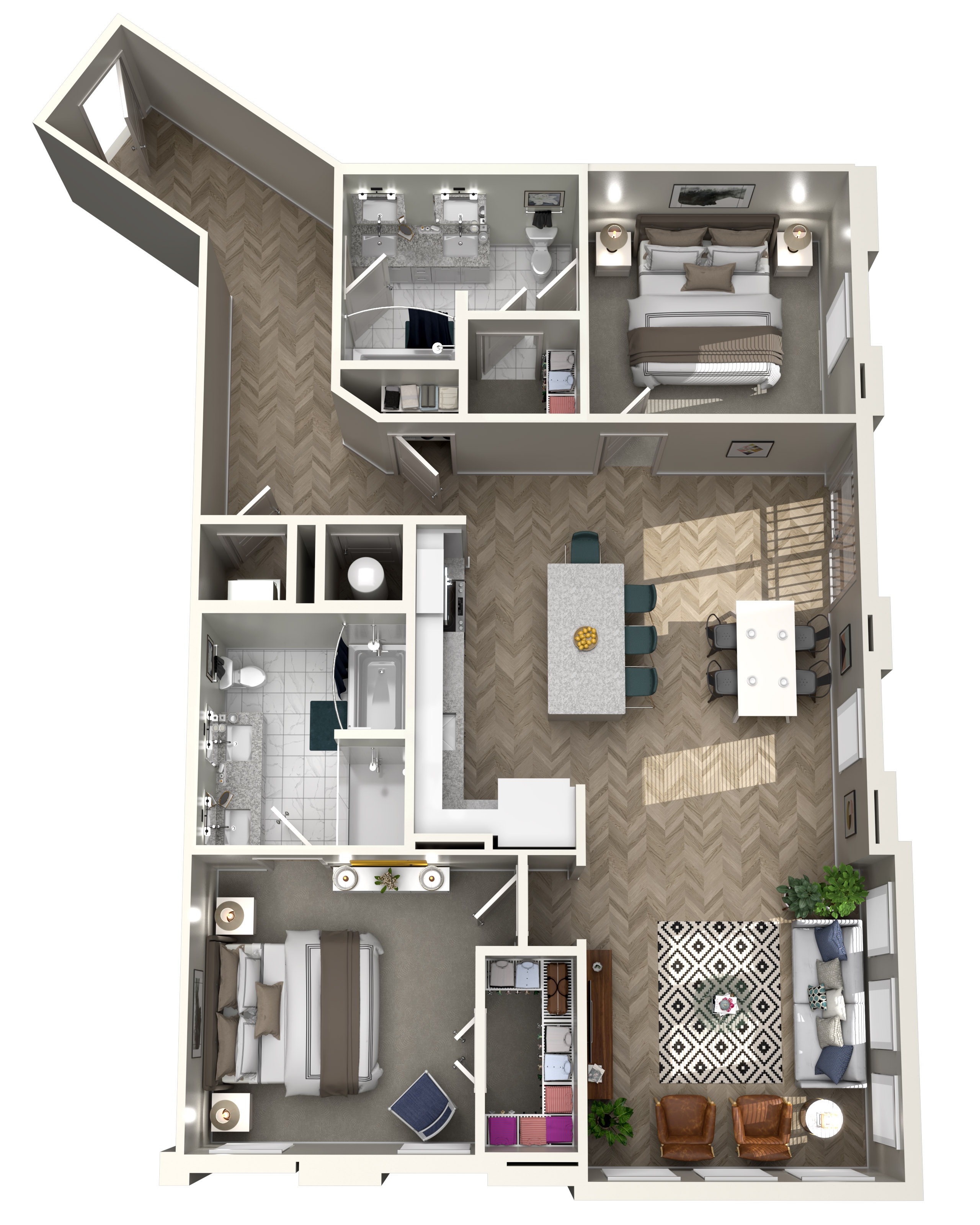 The Heights at Northwinds - Floorplan - B5