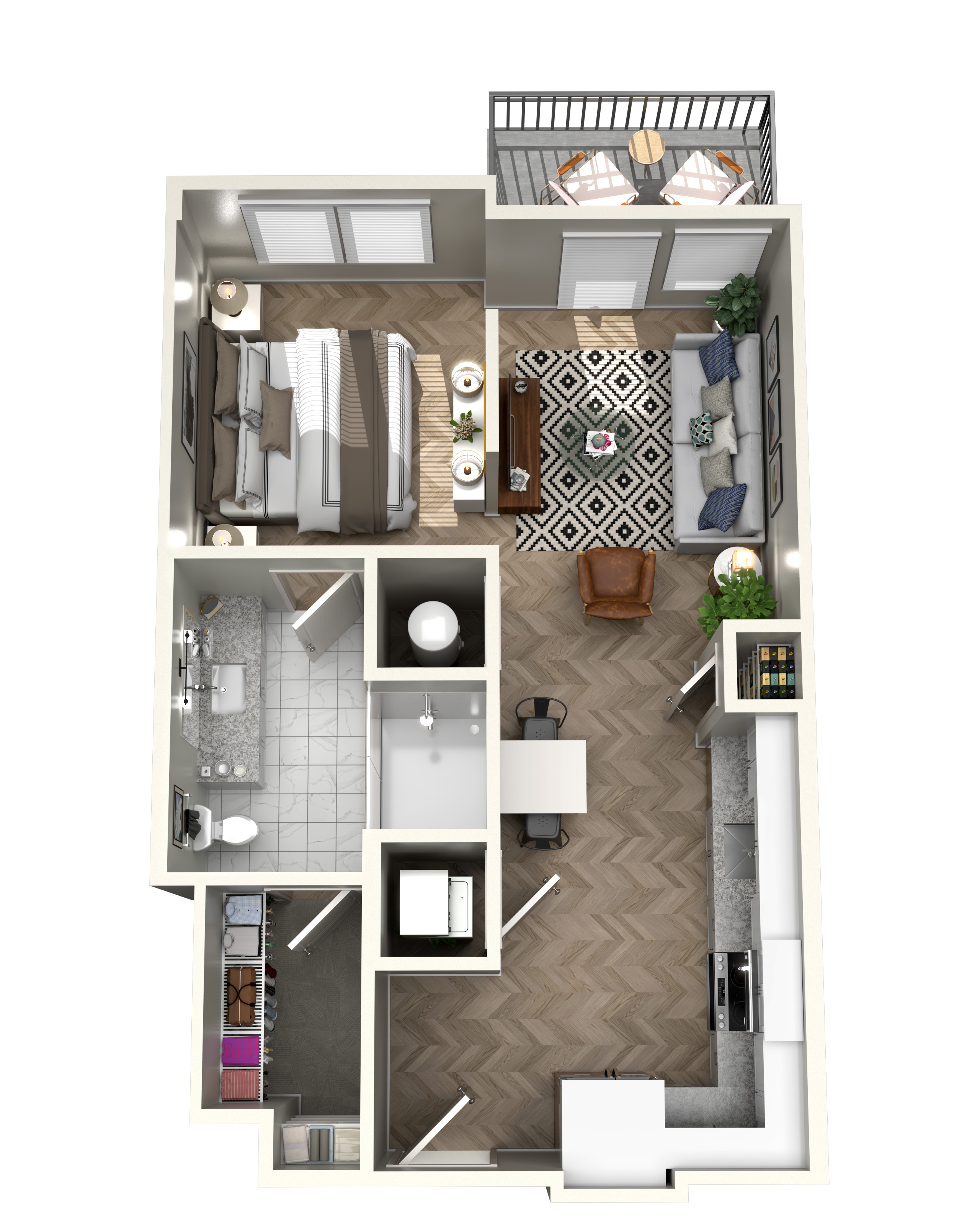 The Heights at Northwinds - Floorplan - S1