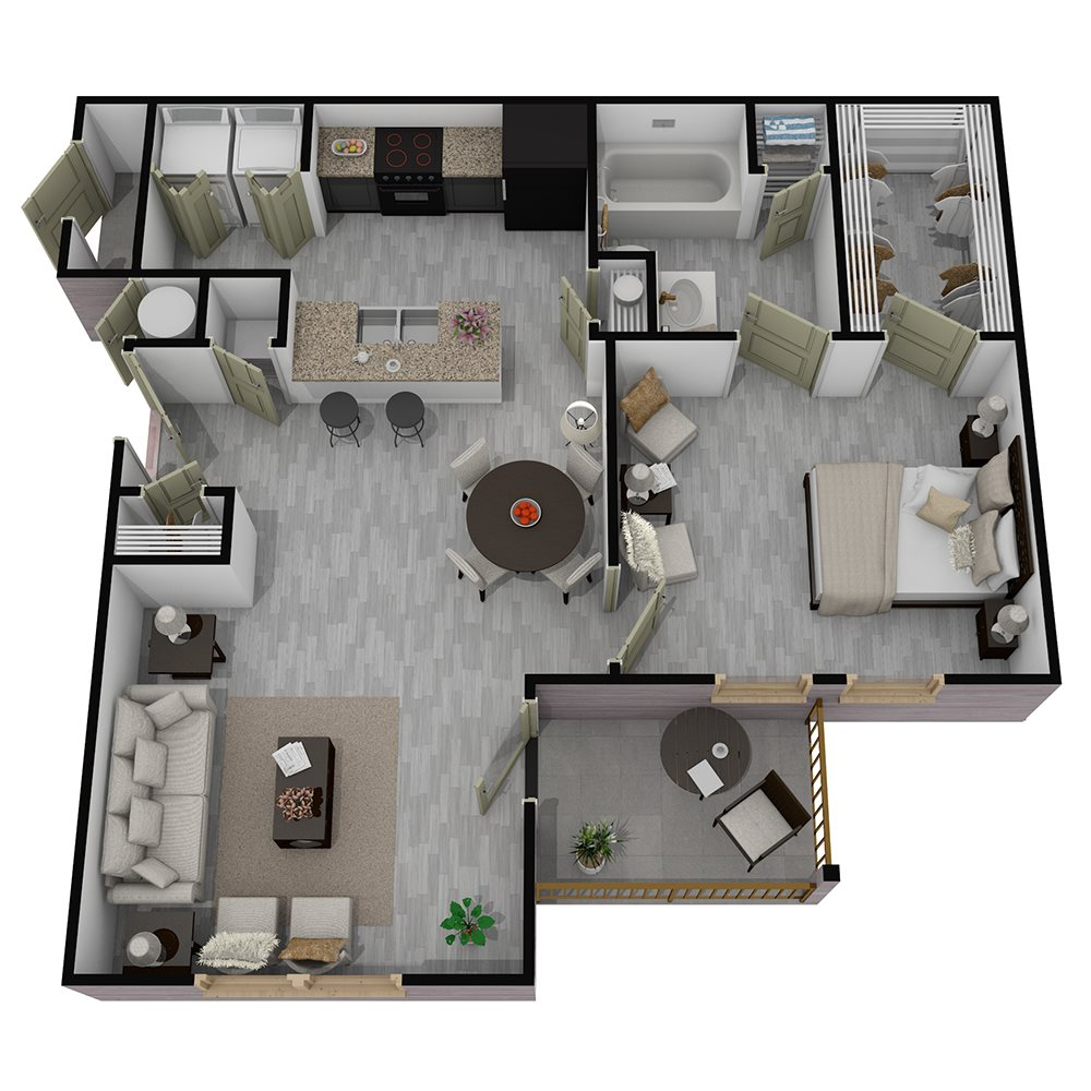 Henderson 1575 - Floorplan - The Andre