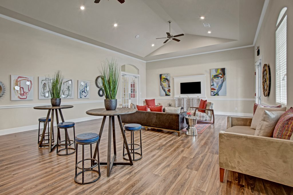 Optic Wood Flooring at Henderson 1575 Apartments in Los Fresnos, Texas