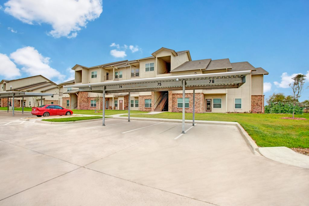 Covered Parking at Henderson 1575 Apartments in Los Fresnos, Texas