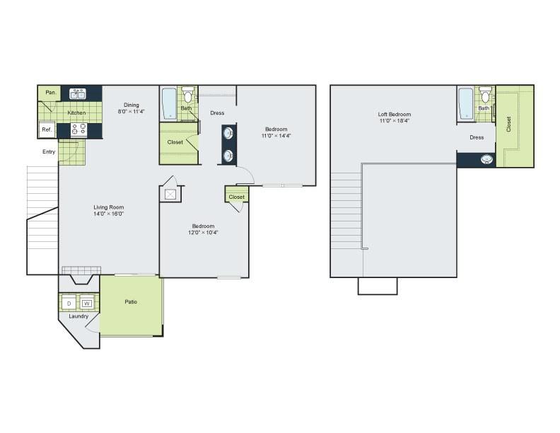 Floorplan - C1 image