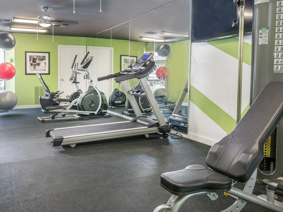 Fitness Center at The Henry B Apartments in San Antonio, TX