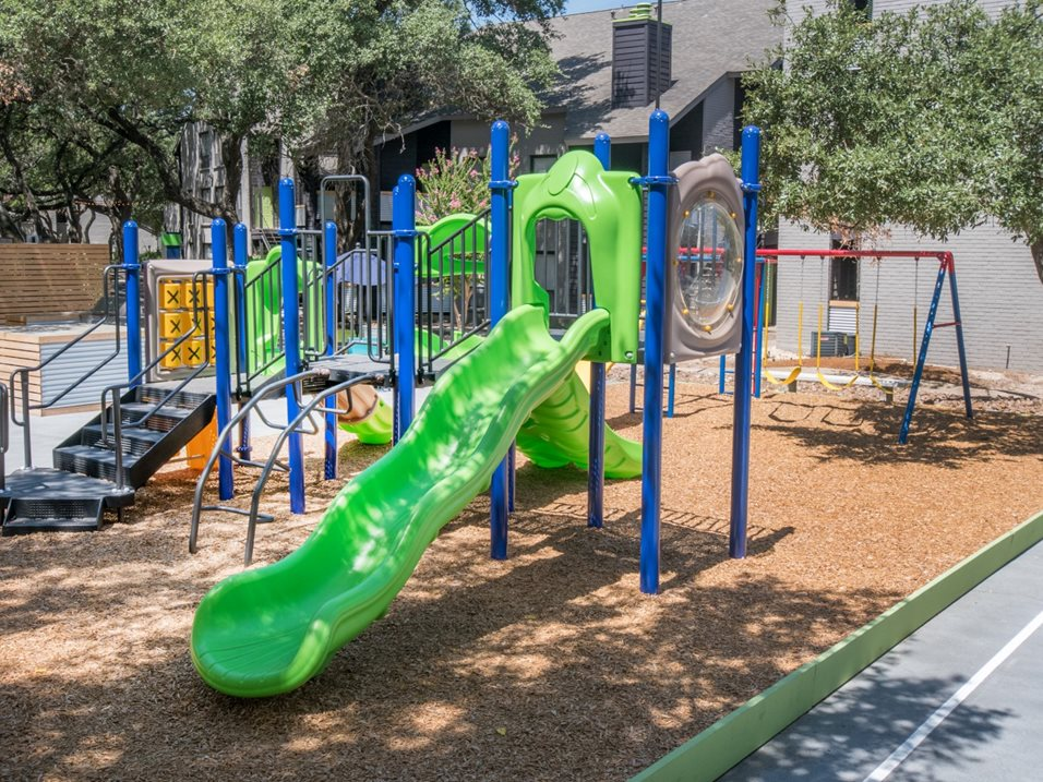 Children's Play Area at The Henry B Apartments in San Antonio, TX