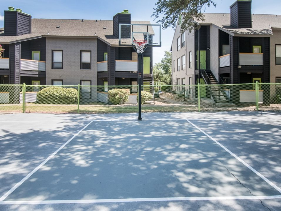 Sports Court at The Henry B Apartments in San Antonio, TX