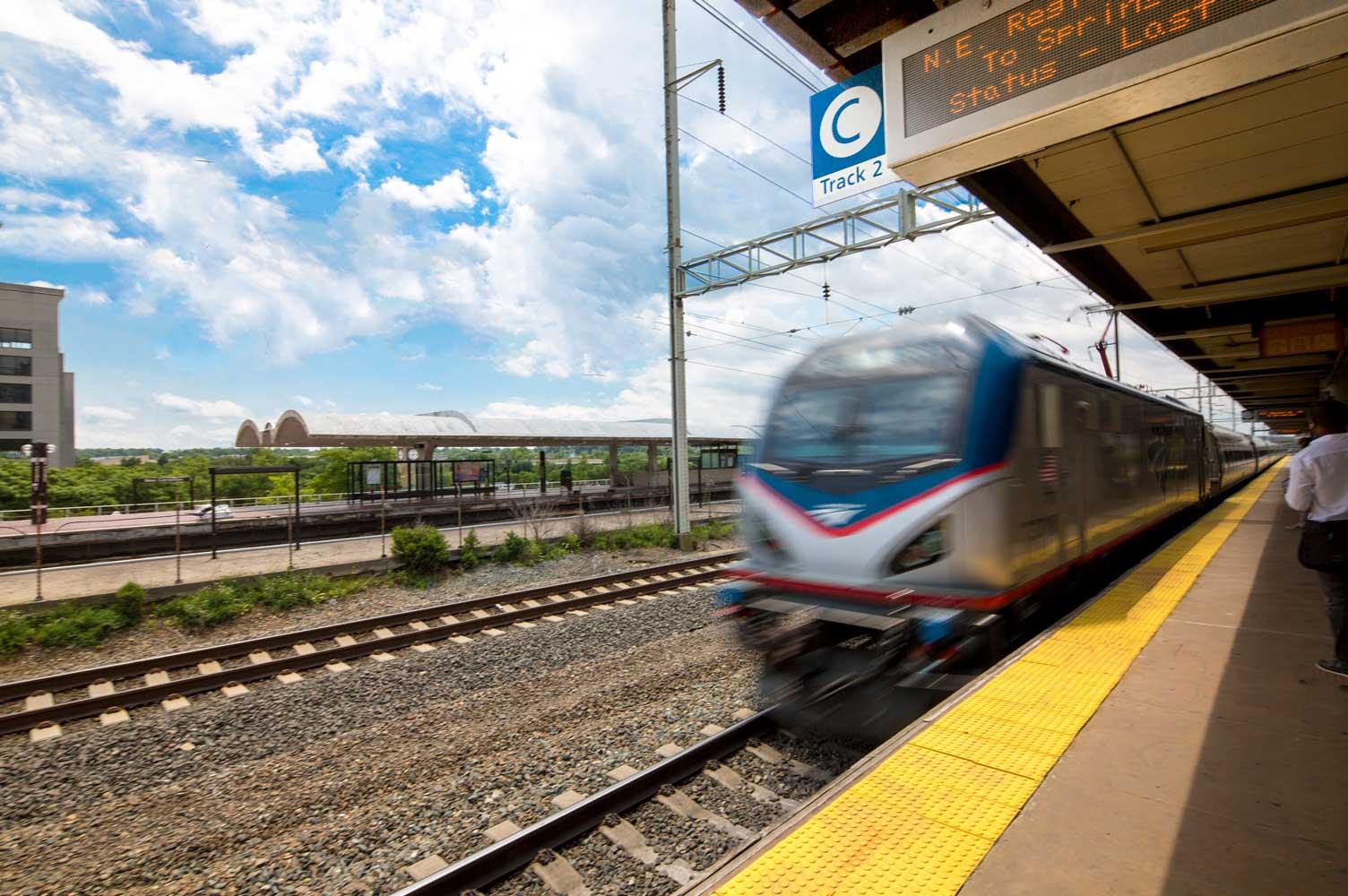 Walking distance to New Carrollton MARC train station in New Carrollton, MD