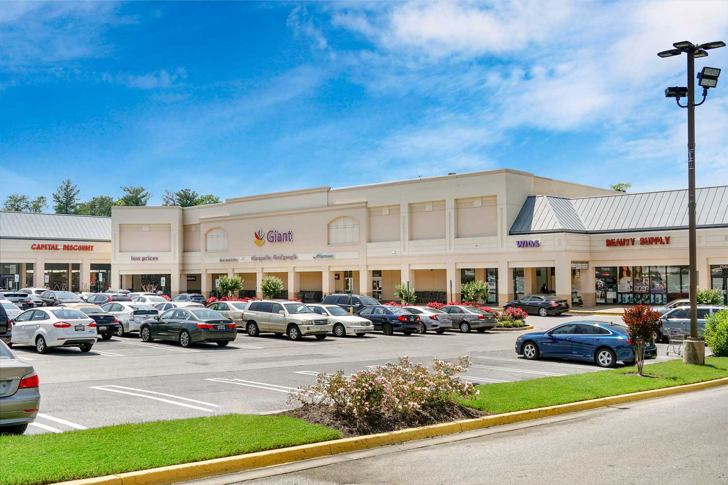 Giant Food is 5 minutes from Heritage Square Apartments in New Carrollton, MD